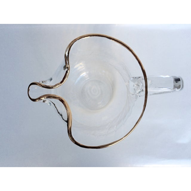 Vintage Colony Optic Pitcher - Image 4 of 4