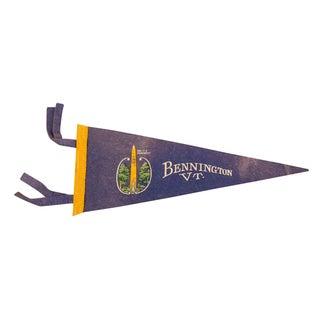 Bennington, Vermont Battle Monument Felt Flag