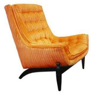 Mid Century Modern Gondola Chair