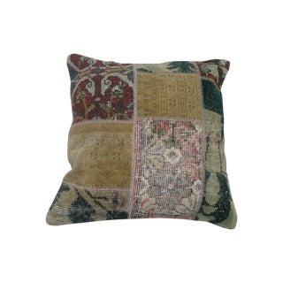 Vintage Patchwork Rugs Pillow