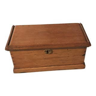 Antique Chilean Wood Box
