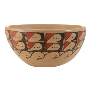 Hopi Wave Design Bowl