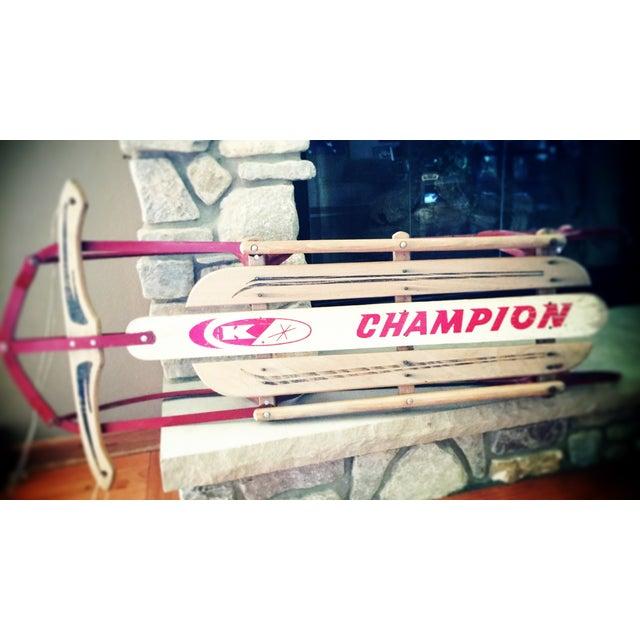 Champion Kalamazoo Sled Co Vintage Retro Sled - Image 2 of 5
