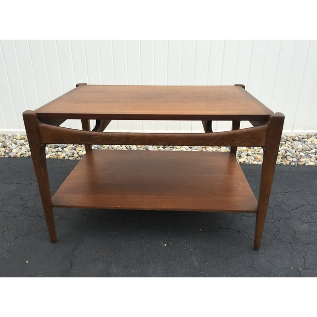 Danish Mid Century Modern Occasional Side Coffee Table Rosewood: Mid Century Danish Modern Bassett Side Table