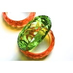 Image of 70s Faceted Lucite Bangles