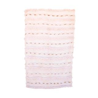 Vintage Handira Moroccan Wedding Blanket
