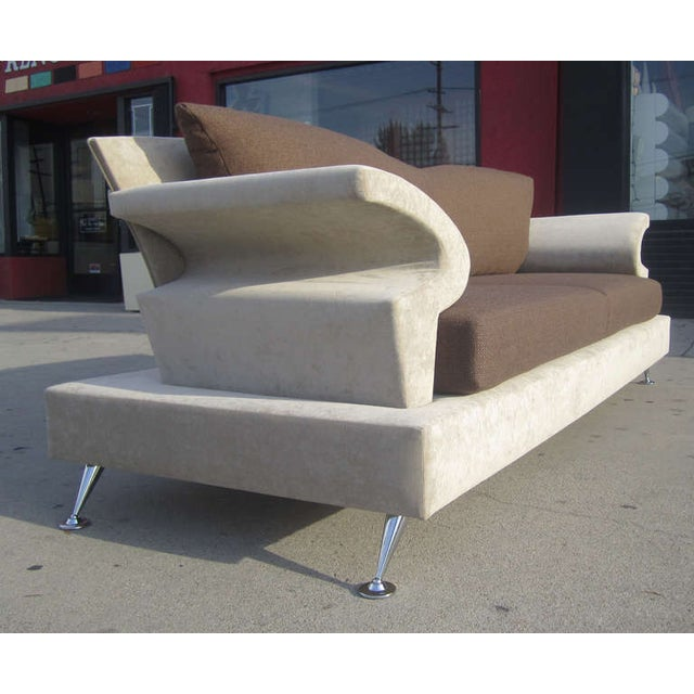 Image of Sculptural Memphis Style Sofa by B&B Italia