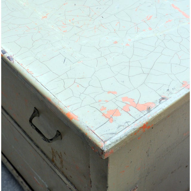 Rustic Green Dresser/Kitchen Island - Image 6 of 7