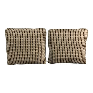 "Roche Bobois Custom 22"" X 20"" Pillows - A Pair"