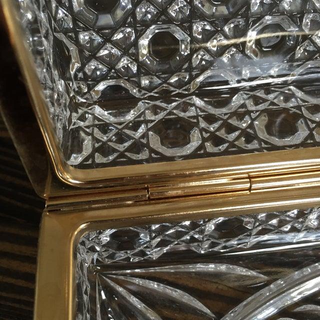 Vintage Crystal Jewelry Box - Image 4 of 7