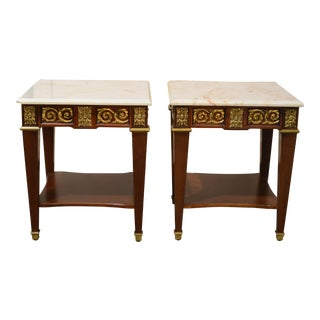 Hotel Meurice Side Tables - A Pair