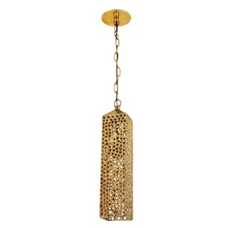 Rare Brass Pendant by Pierre Forsell for Skultana
