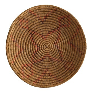 Large Southwestern Handwoven Coil Basket