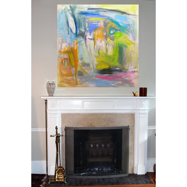 Image of Extra Large Original Abstract Landscape Painting