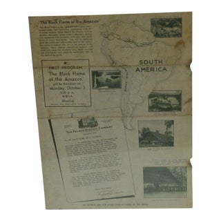 1938 Black Flame Radio Expedition and Broadcast Station