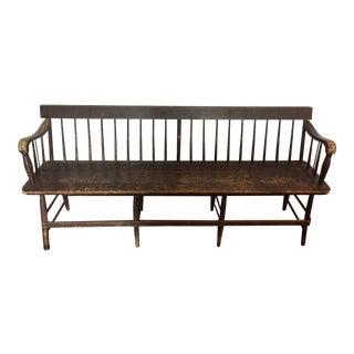 C. 1900 Antique Wood Bench