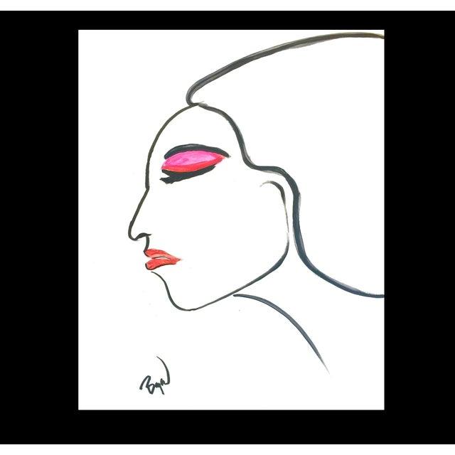 Image of Fashion Illustration by Bryan Boomershine