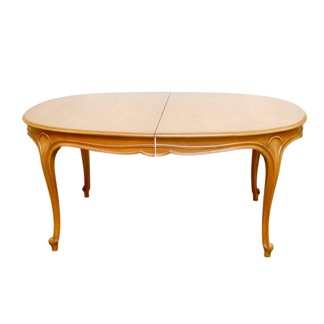 Drexel Vintage French Provincial Dining Table - Image 1 of 6