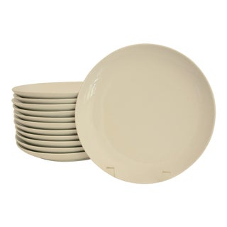 Crate & Barrel Salad or Hors D'Oeuvres Plates - Set of 12