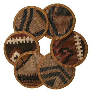 Kilim Coasters Set of 6 - Nemrut