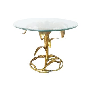 Arthur Court Garden Lily End Table