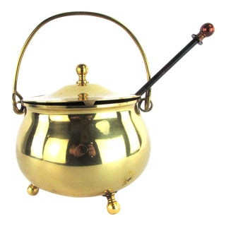 Brass Firestarter Pot w/ Handle