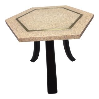 Harvey Probber Hexagonal Top Side Table
