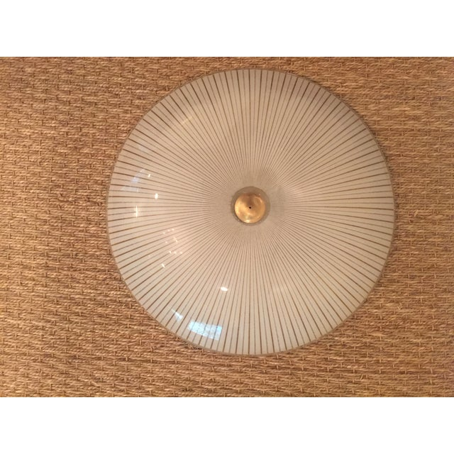 Image of MCM Atomic Lightolier Ceiling Mount Groovy Light