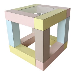 Ettore Sottsass Mimosa Side Table 1984