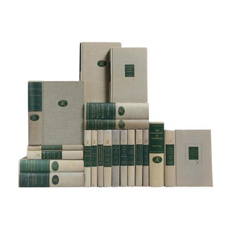 Thistle & Pearl Gray Books- Set of 20