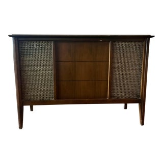 Vintage Zenith Record Player Console
