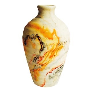 Vintage Large Nemadji Pottery Vase