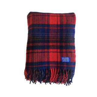 Vintage Pendleton Woolen Mills Throw Blanket
