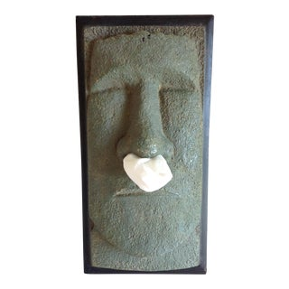 Male Mask Tissue Box Cover