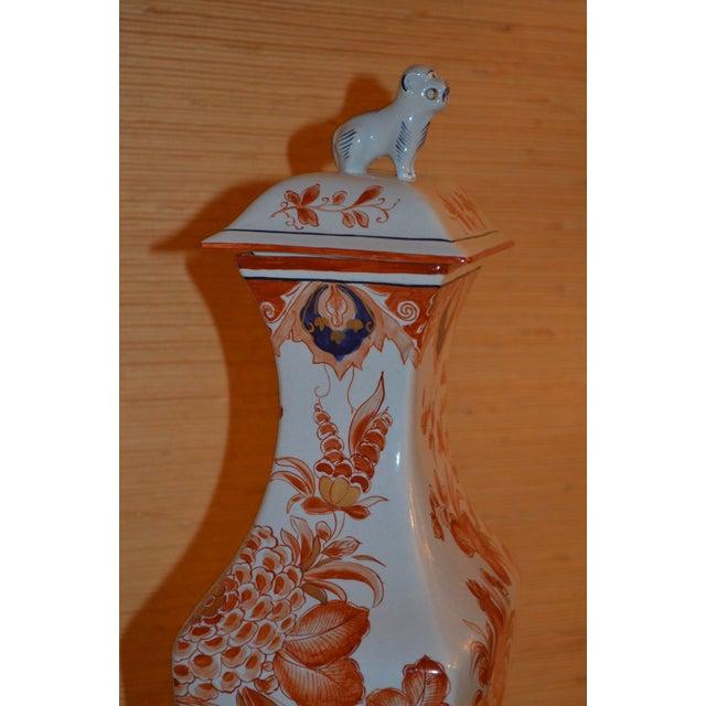 """Italian Meiselman Covered Imari Vase, 18"""" - Image 6 of 9"""