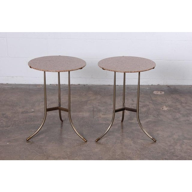 Pair of Side Tables by Cedric Hartman - Image 7 of 10