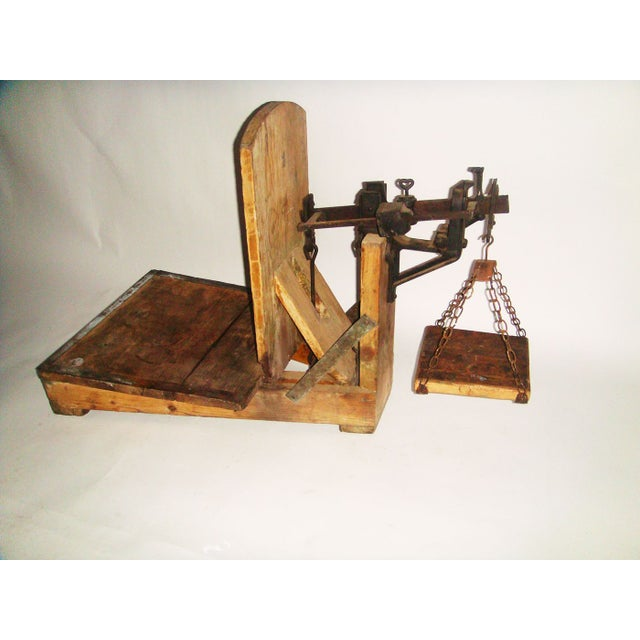 19th Century Swedish Weighing Scale - Image 2 of 7