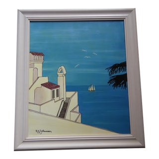 Catalina Island Painting 1995