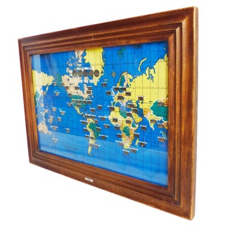 Howard Miller World Map Wall Clock