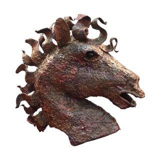 Ricardo Preciado Modernist Horse Head Sculpture