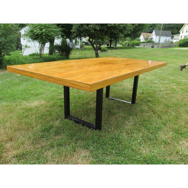 Vintage dining table by pace collection chairish for Table 6 in as 3725