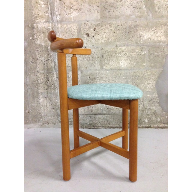 Vintage Danish Mid Century Modern Dining Chair - Image 8 of 9