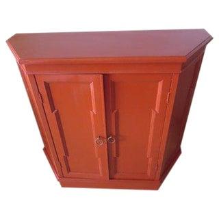 1960s Antique Mod Angular Cabinet