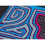 Image of Abstract Textile Pillowcase - Handmade in Panama