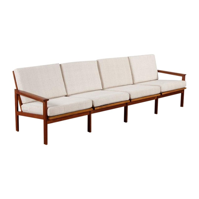 Restored Vintage Illum Wikkelso Adjustable Sofa - Image 1 of 6