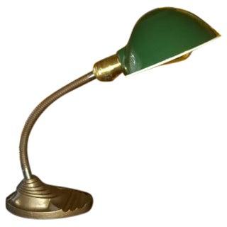 Vintage Iron Eagle Gooseneck Lamp