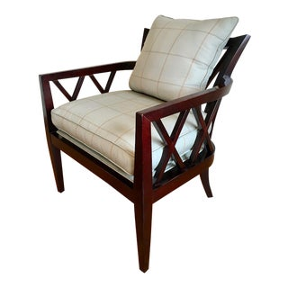 Baker Double X Back Chair
