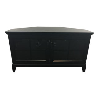 Crate & Barrel Contemporary Entertainment Console
