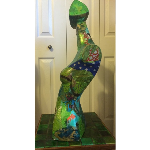 Image of Vintage 1960s Mixed Media Neiman Marcus Bust