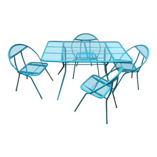 Vintage Salterini by Rid-Jid Folding Patio Set
